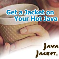 Custom Printed Coffee Cup Sleeves By Java Jacket