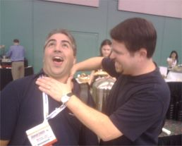 Matt Cutts Choking Michael Gray