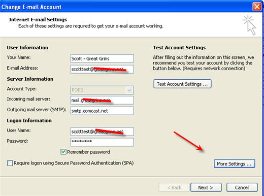 Forwarding comcast net email to gmail