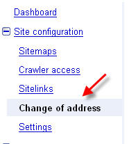 how to change address on google