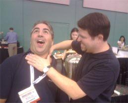 Matt Cutts Choking Michael Gray